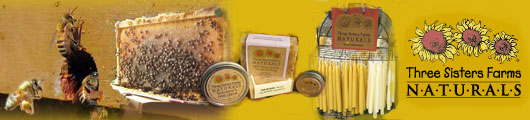 bees and products banner